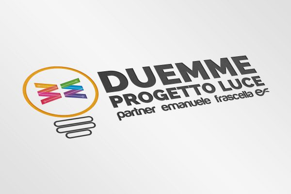 logo duemme progetto luce