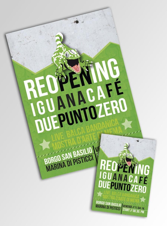 flyer iguana cafè