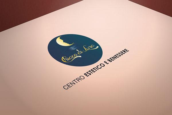 logo centro estetico chiaro di luna